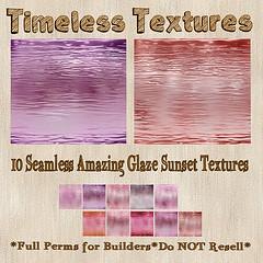 TT 10 Seamless Amazing Glaze Sunset Timeless Textures