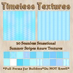 TT 20 Seamless Sensational Summer Stripes Azure Timeless Textures