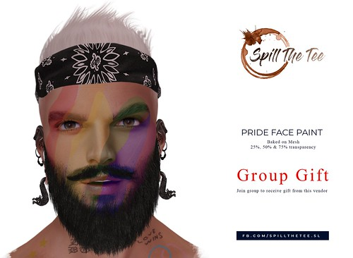 Pride Face Paint Group Gift