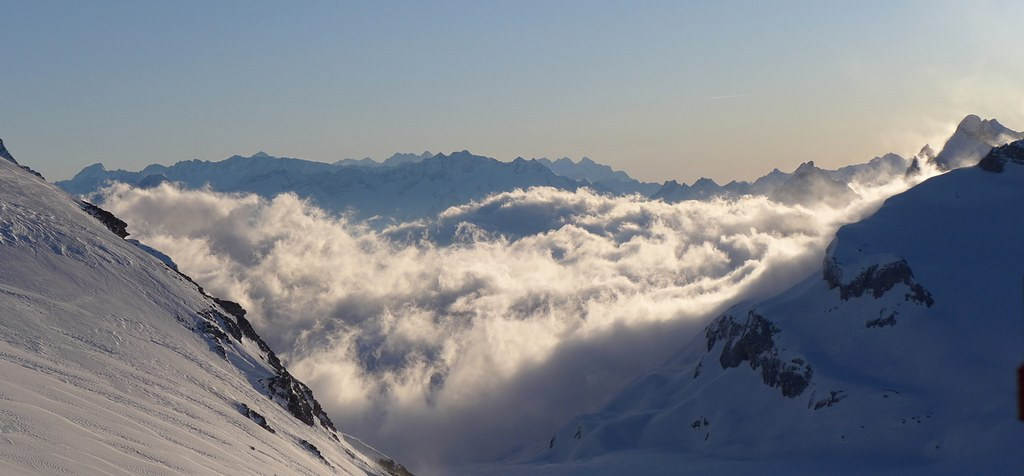Planurahütte Glarner Alpen Schweiz foto 33