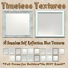 TT 18 Seamless Self Reflection Blue Timeless Textures