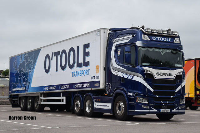O'TOOLE TRANSPORT SCANIA NEXT GENERATION S520 V8 201-G-2404