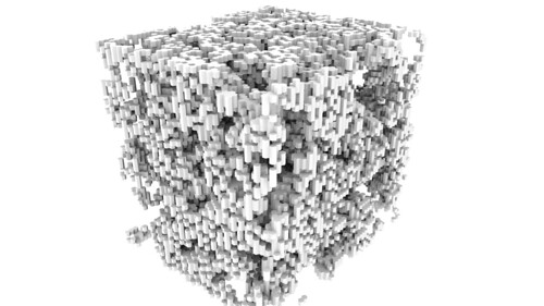 3D Hexagonal Cellular Automaton