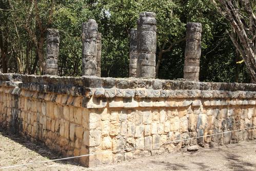 The Tomb Platform, Chichen Itza, Mexico's Yucatán Peninsula