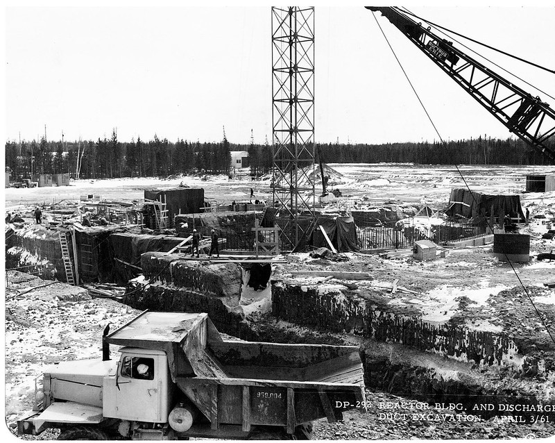 Construction of the Douglas Point facility