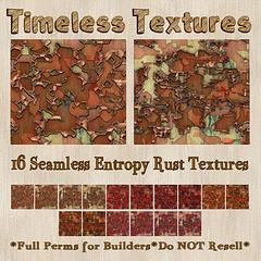 TT 16 Seamless Entropy Rust Timeless Textures