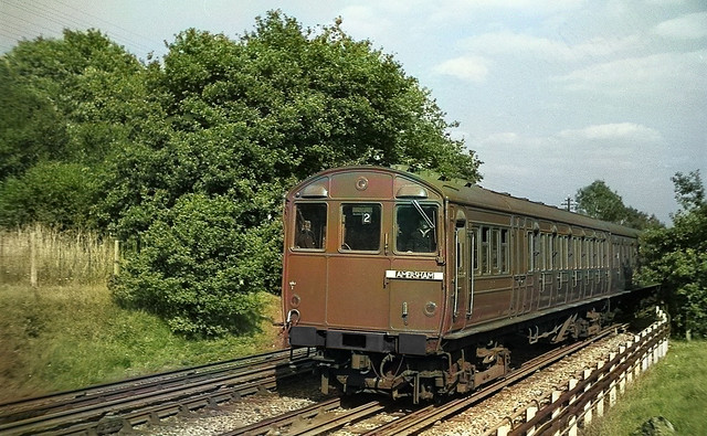 1961.  Metropolitan Line 'T' stock.