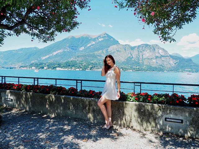 Ivana from Czechia - here in Bellagio, Lake Como, Italy