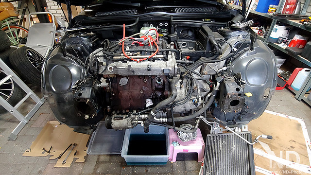 Mini Cooper S R53 JCW Supercharger Service