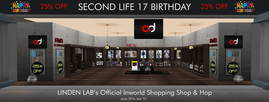 A&D Clothing at SL 17 Birthday