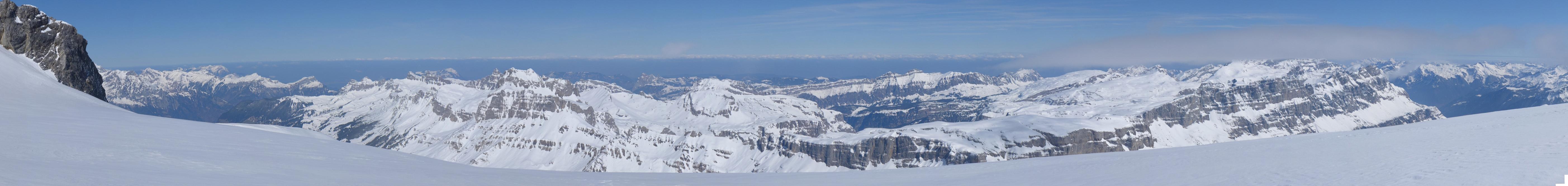 Planurahütte Glarner Alpen Schweiz panorama 47