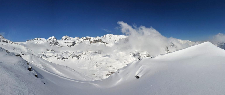 Planurahütte Glarner Alpen Schweiz panorama 46
