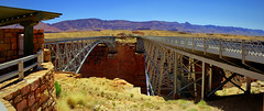 Navajo Bridge - Marble Canyon, Arizona - Panorama