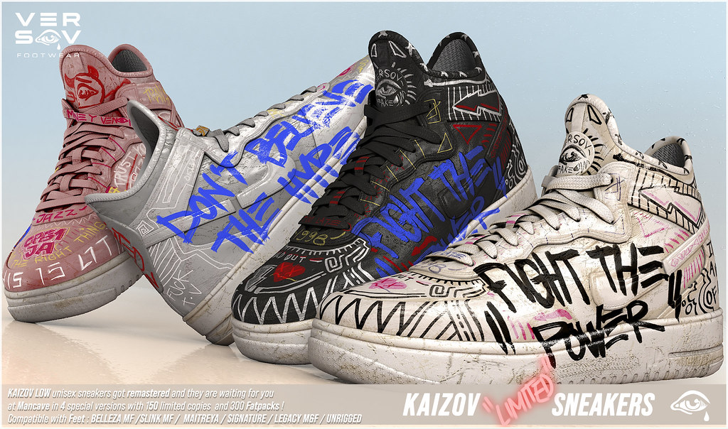 [ Versov // ] KAIZOV LIMITED EDITION sneakers available at MAN CAVE