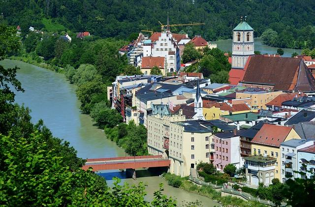 Wasserburg am Inn - The Town and The River