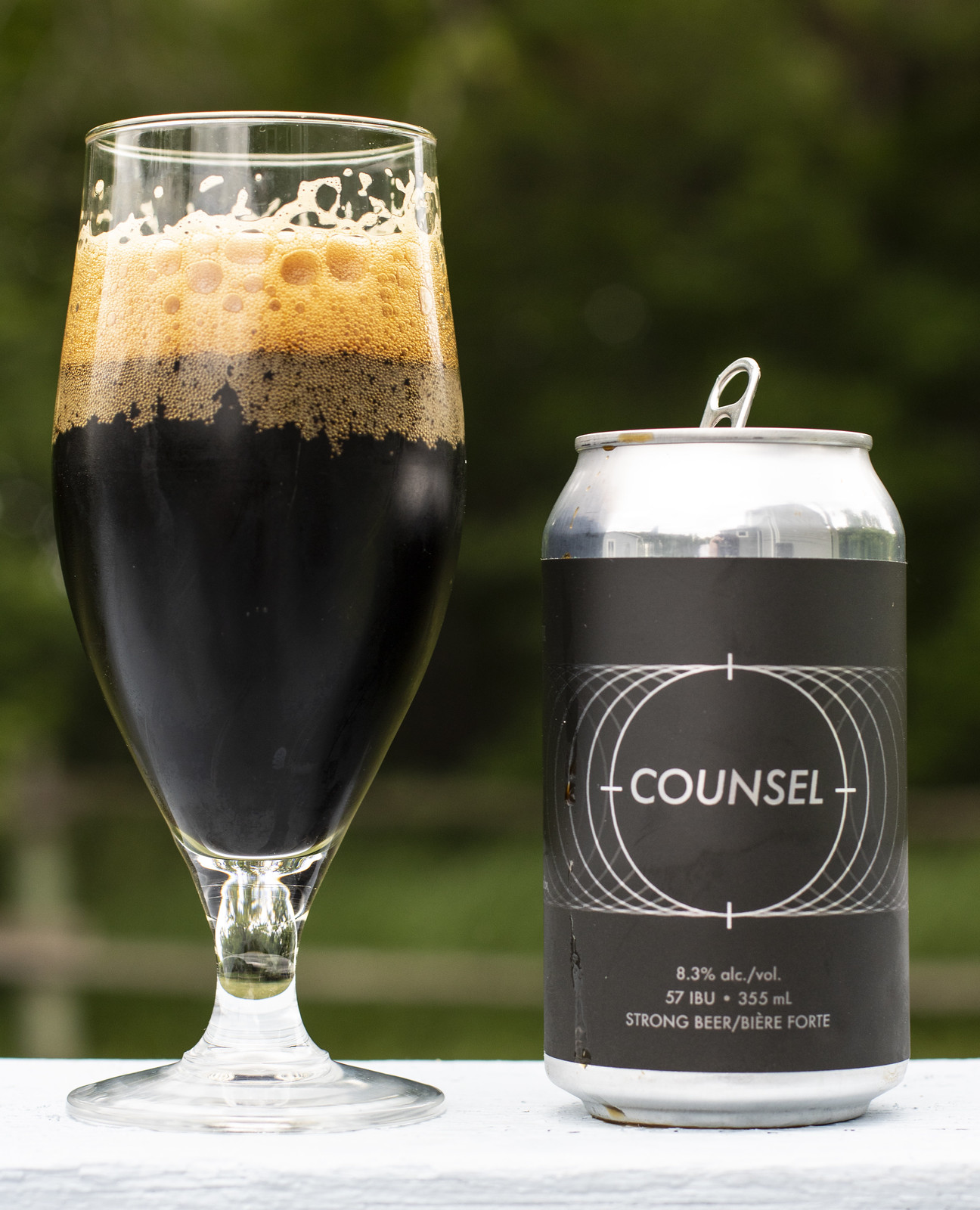 2 Crows Counsel Imperial Stout with Coconut and French Oak