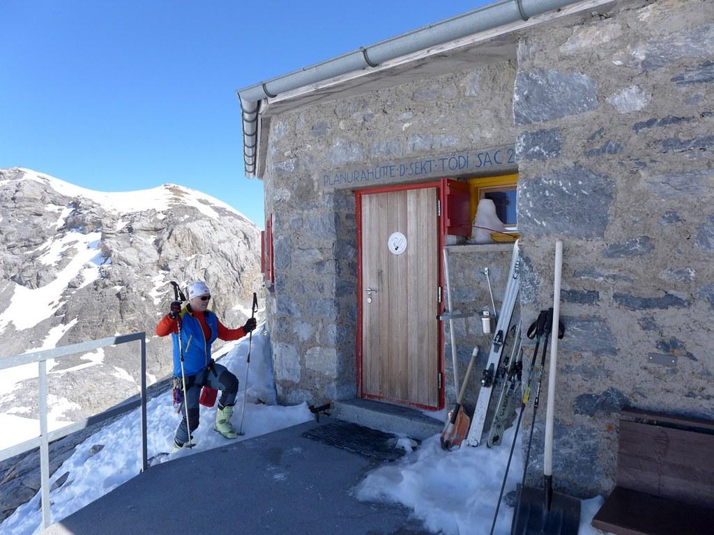 Planurahütte Glarner Alpen Schweiz foto 02