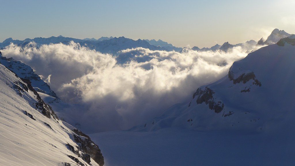 Planurahütte Glarner Alpen Schweiz foto 30