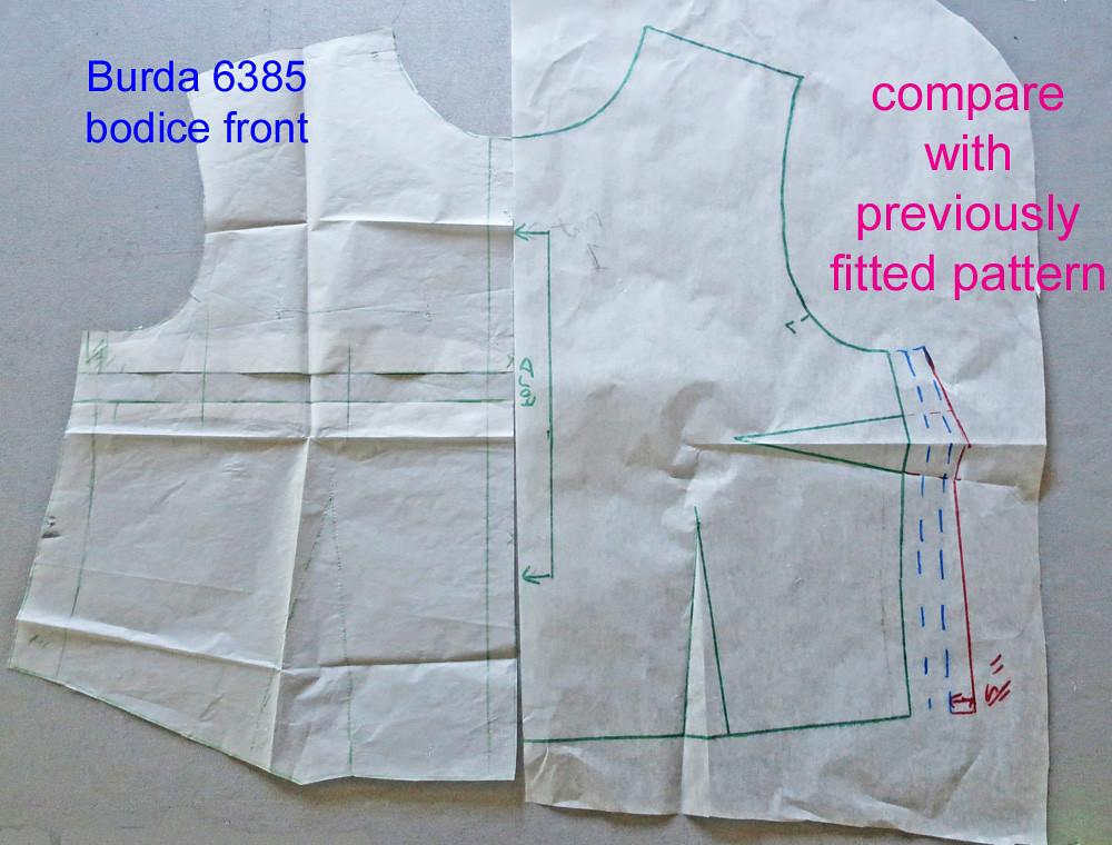 Burda compare with previous pattern1
