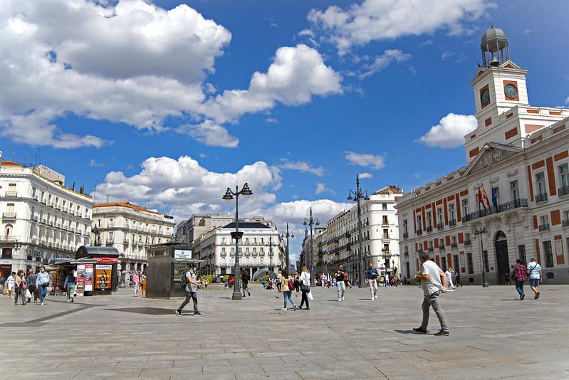 PUERTA DEL SOL MADRID  1065 13-6-2020