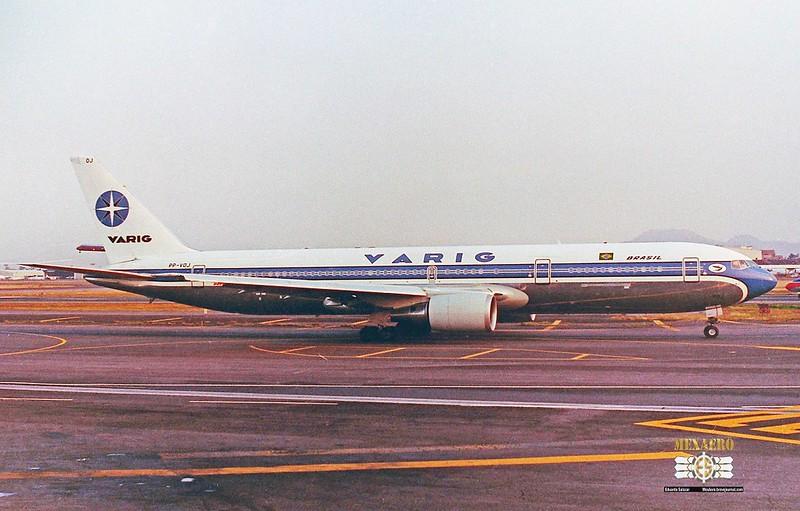 Varig / Boeing 767-341(ER) / PP-VOJ