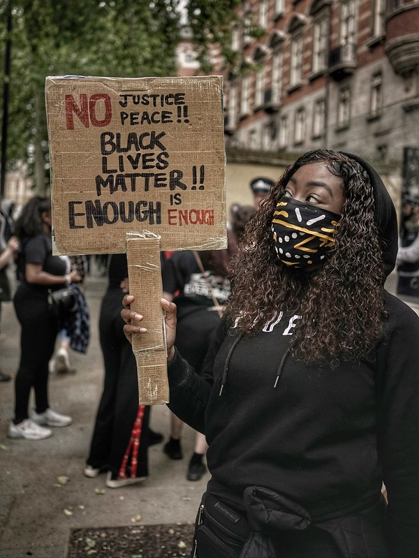 BLACK LIVES MATTER London UK