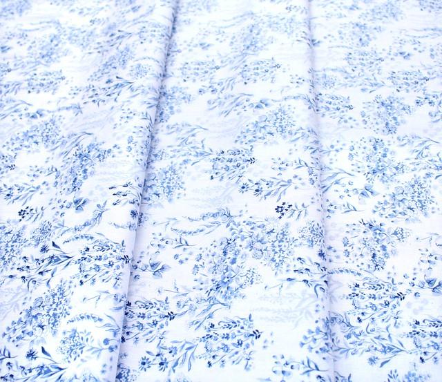 Windham Fabrics English Garden 51831-1 Bouquet White