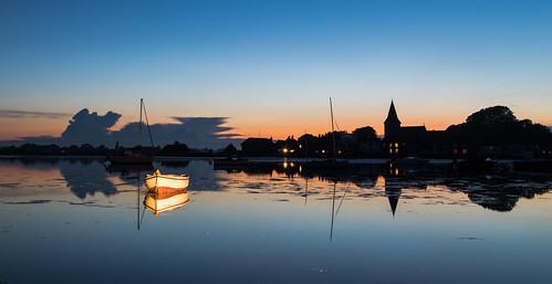 boshamharbour bosham westsussex wetreflections sunsettingsilhouettes silhouettes boats