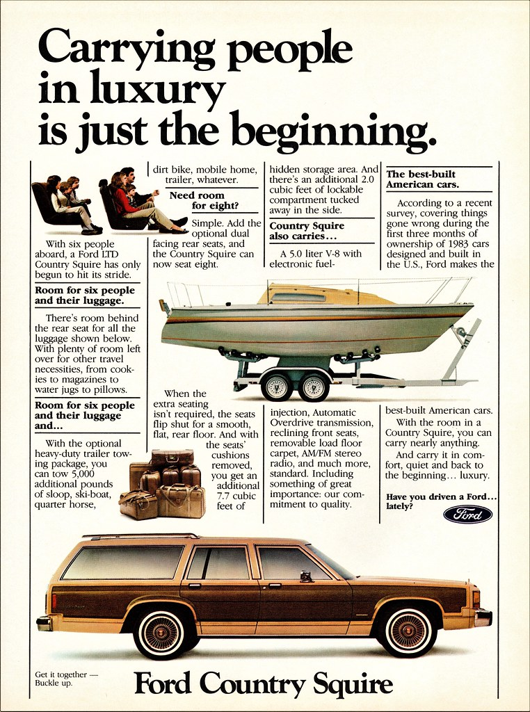 1984 Ford LTD Country Squire