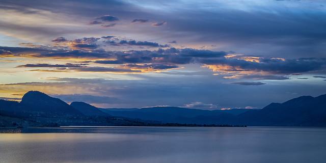 Evening at Okanagan Lake