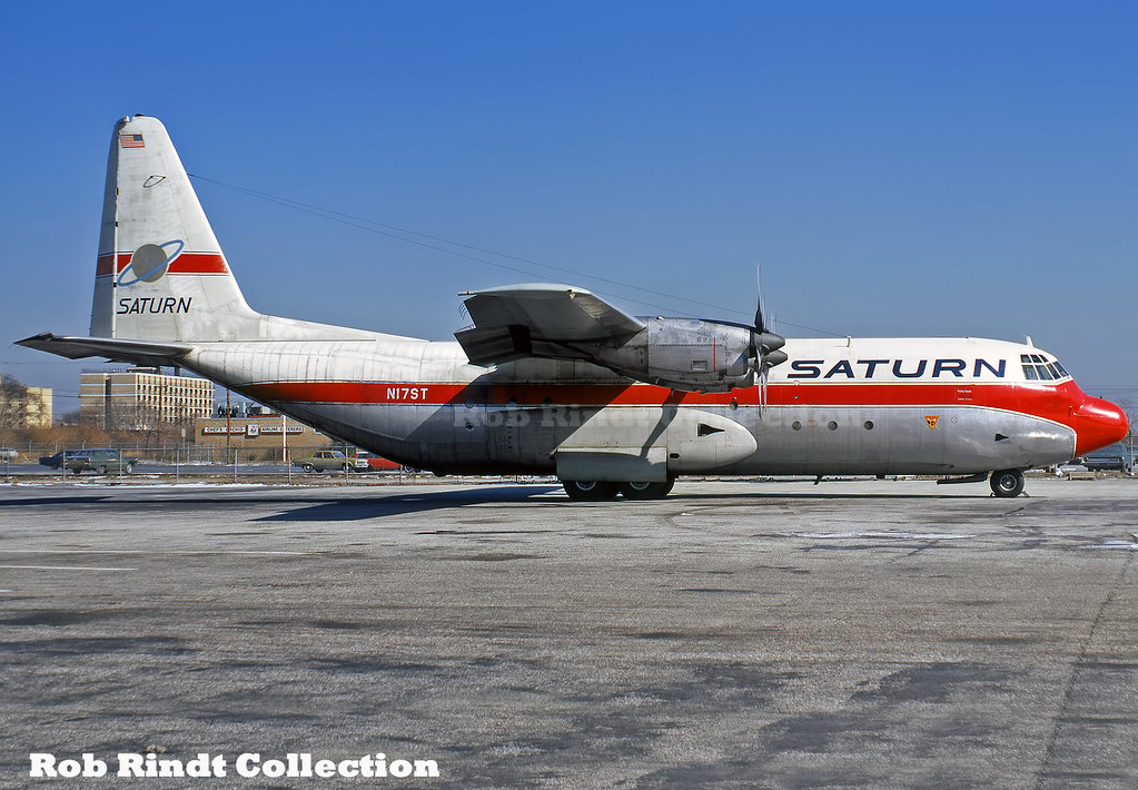 Saturn Airways Lockheed L-100-30 Hercules N17ST
