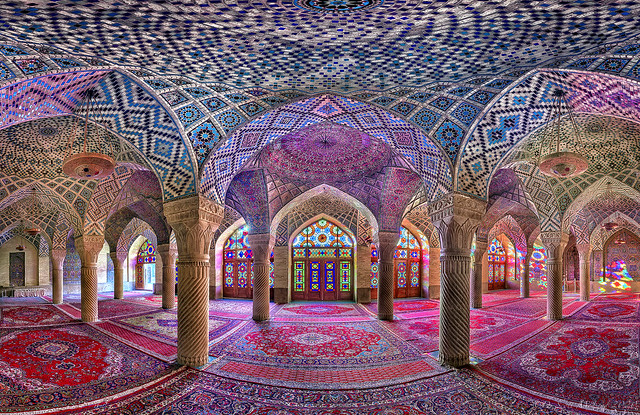 Pink Mosque, Shiraz Iran