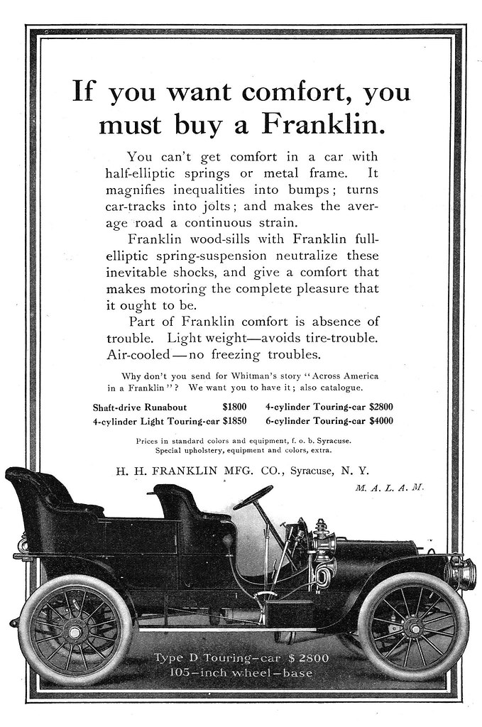 1907 Franklin Type D Touring-car