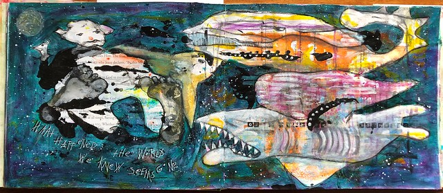 Art Journal J232 The World We Knew Is Gone