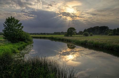 northamptonshire rivernene fotheringhay rivers landscapes