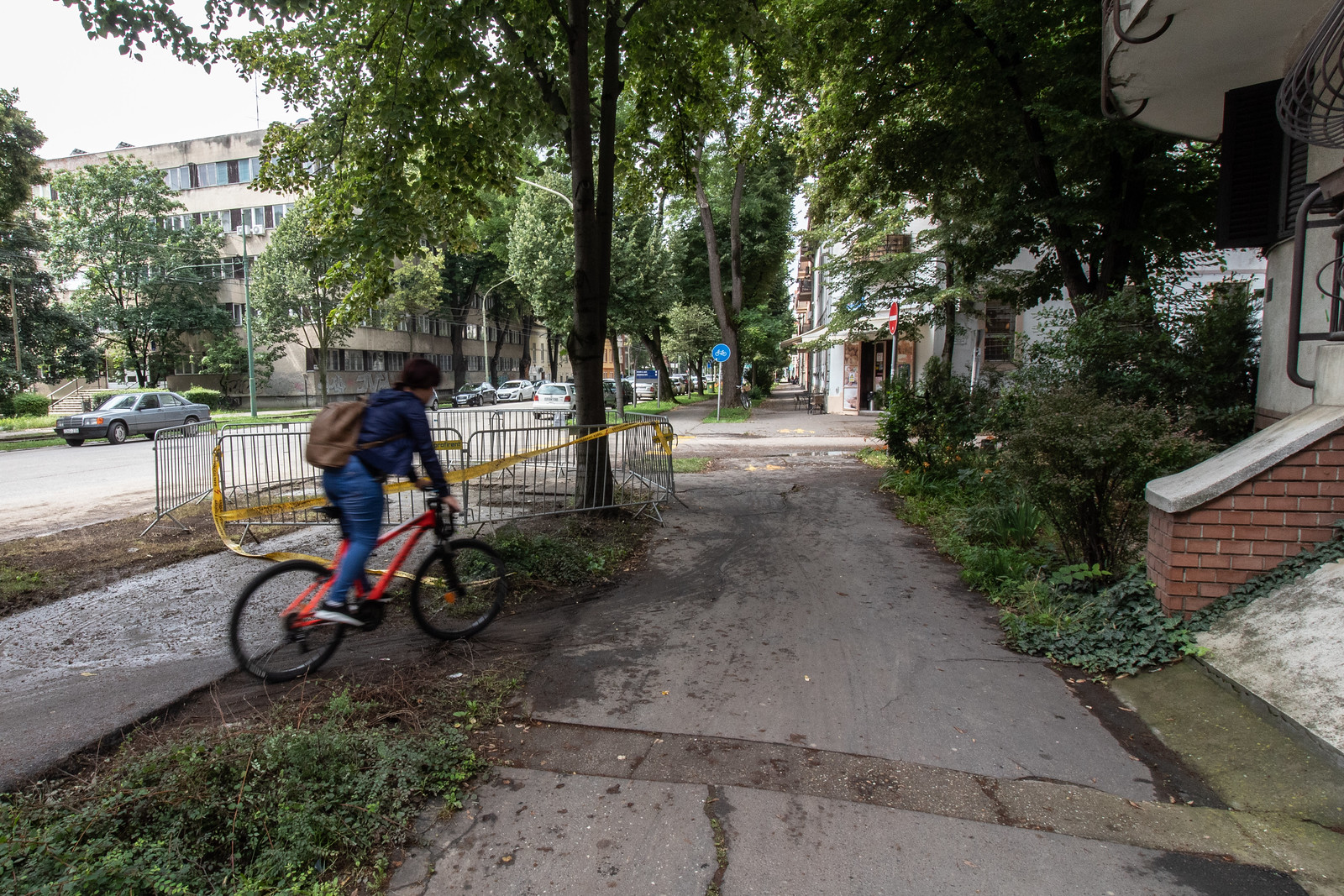 Kipróbáltuk Szeged első kerékpáros akadálypályáját