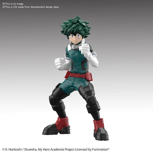 出色分件、簡易組裝『ENTRY GRADE』系列將推出《我的英雄學院》綠谷出久組裝模型!