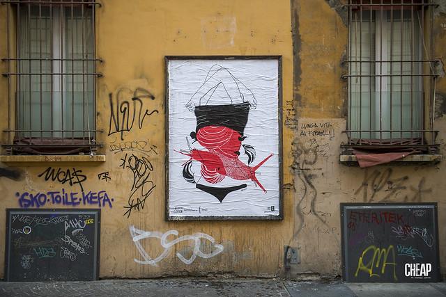 La lotta è FICA | un progetto femminista di arte pubblica di CHEAP