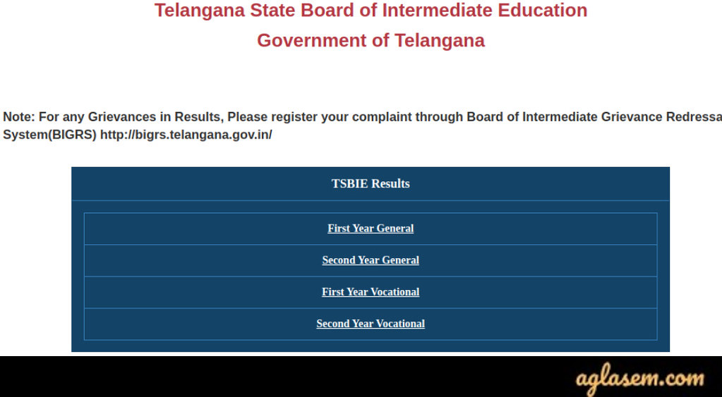 How to Check TS Intermediate Result 2020 Result?