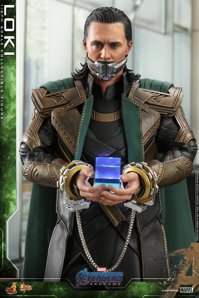威風凜凜、黯然被捕兩種姿態一次擁有! Hot Toys - MMS579 -《復仇者聯盟:終局之戰》洛基(Loki)1/6 比例人偶