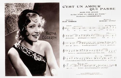 Marta Eggerth in Ein Lied, ein Kuß, ein Mädel (1932)