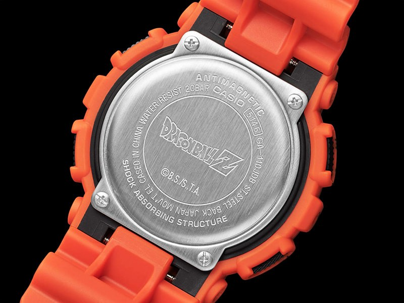 將超級賽亞人的進化歷程濃縮於腕上!G-Shock x《七龍珠 Z》超熱血悟空聯名錶款(DRAGON BALL Z GA-110JDB-1A4JR)