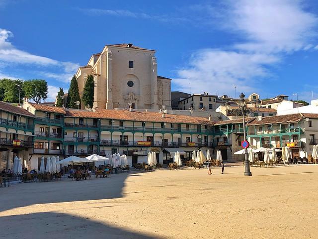 Plaza Mayor de Chinchón, entre los pueblos más bonitos de Madrid