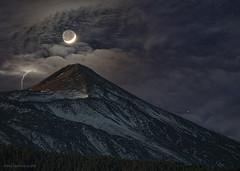 Moon - Venus - Teide
