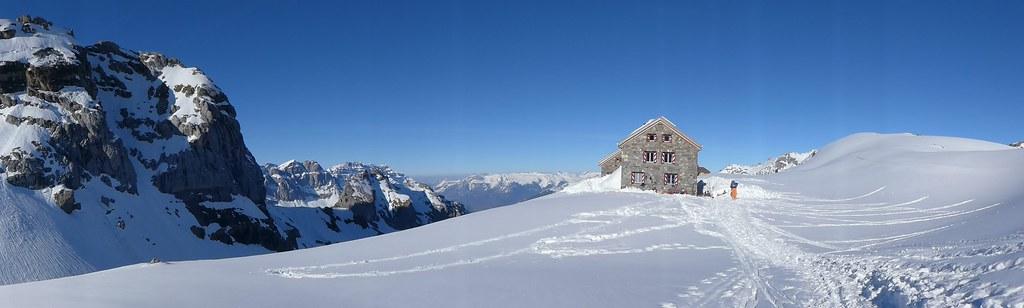 Claridenhütte Glarner Alpen Švýcarsko foto 03