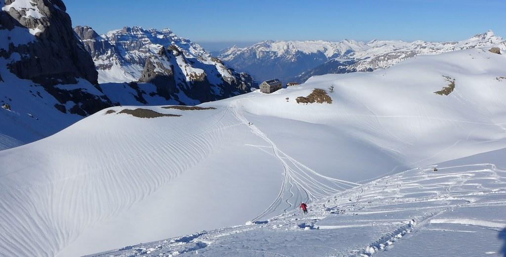 Claridenhütte Glarner Alpen Švýcarsko foto 01