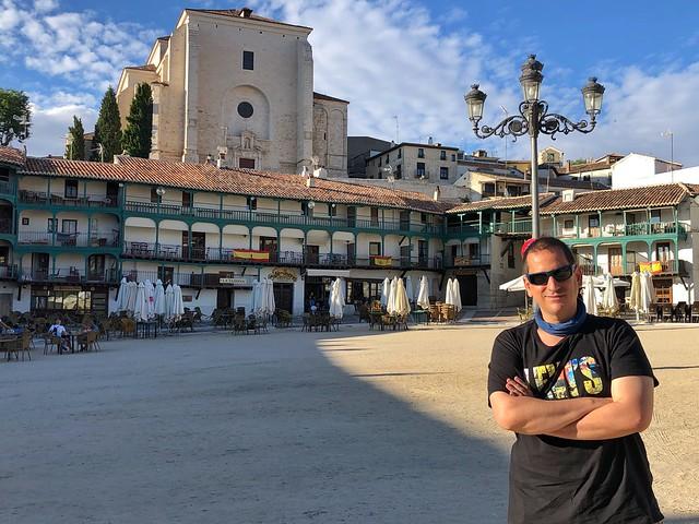 Sele en Chinchón, uno de los pueblos más bonitos de Madrid