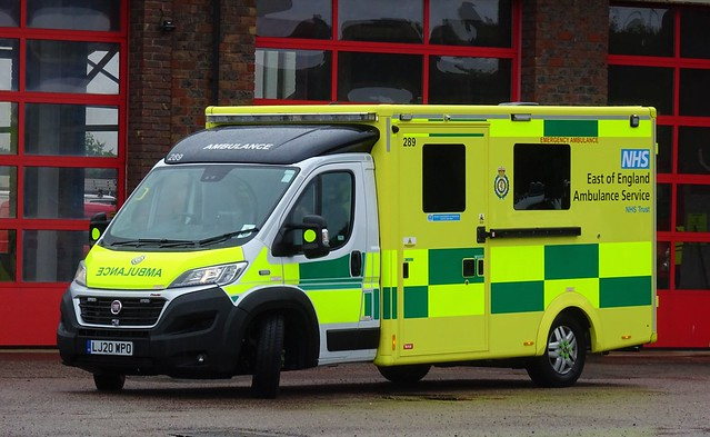 East Of England Ambulance - LJ20 WPO
