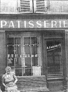 La pâtisserie Farinetti à cette époque