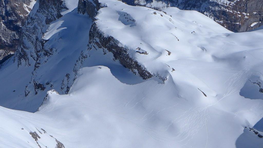 Claridenhütte Glarner Alpen Švýcarsko foto 02